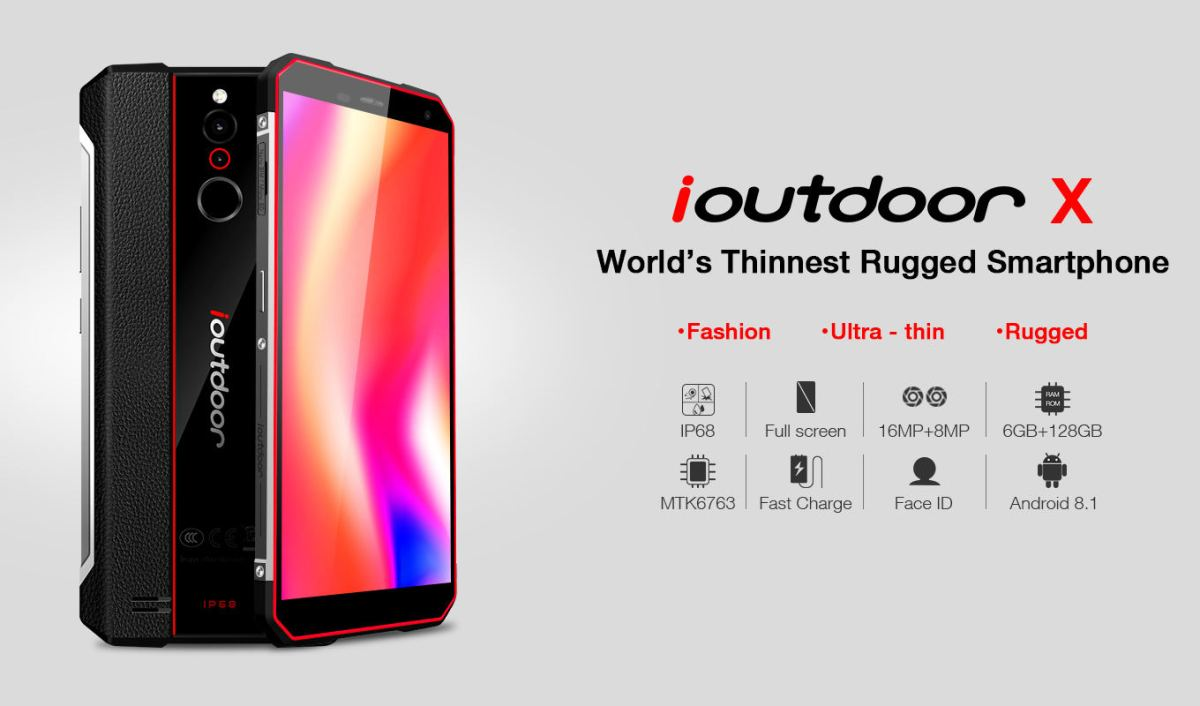 iOutdoor X — World's Thinnest Rugged Smartphone